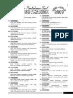Jawaban Dan Pembahasan Soal USM STAN 2009 - 2014