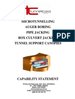 Tunnelcorp Capability Statement