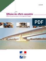 Diffusion Des Efforts Concentrés - Efforts de Précontrainte Et Des Appareils d'Appui - Guide Méthodologique Et Exemples d'Application