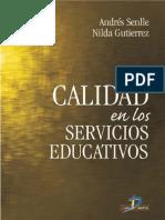 Calidad en Los Servicios Educativos - Senlle, AndrA(c)s(Author)