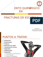 Tratamiento Quirurgico en Fracturas de Escapula 2