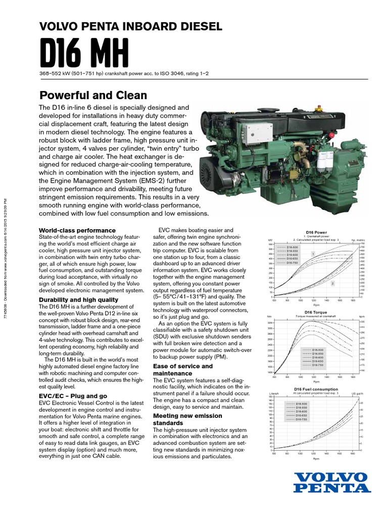 Volvo D16 Engine Oil Diagram Free Download Wiring Penta Diesel Fuel Injection As Well Including