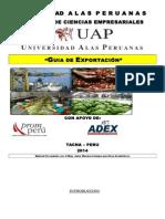 Guia de Exportaciòn i 2014 Adex Para Examen