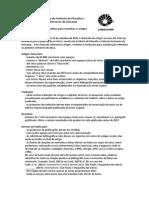 Revista Ideias - Chamada de Artigos 2012