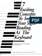 Concepts to Improve Sight-Reading