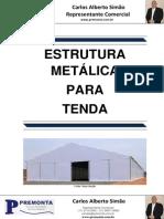 Estrutura Metálica para Tenda