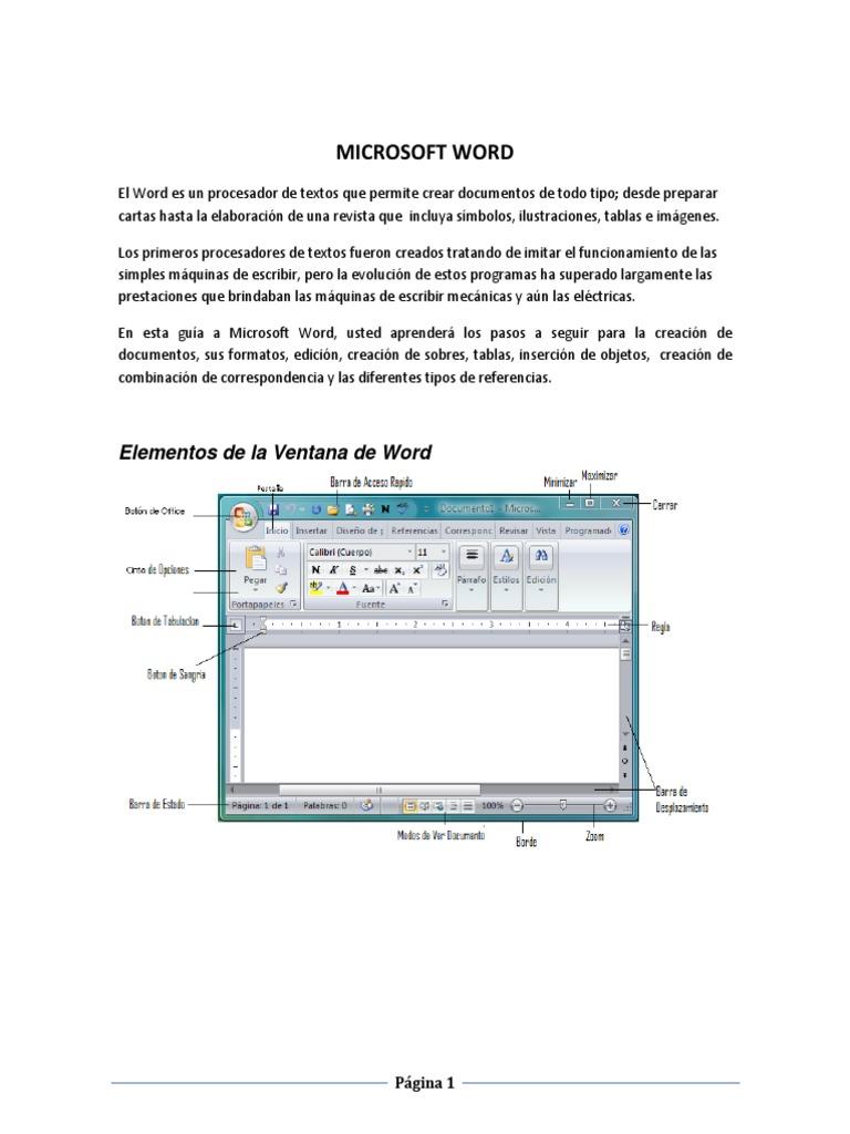 Tutorial para Microsoft Office Word 2013