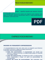 Empreendedorismo I