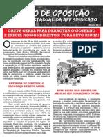 Panfleto Bloco de Opsição_Maio