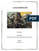 Guerra Del CENEPA 1995