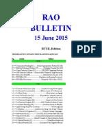 RAO Bulletin 150615d (HTML Edition)