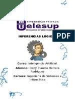 INFERENCIAS LÓGICAS TRABAJO