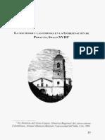 La Sociedad y Las Formas en La Gobernacion de Popayan