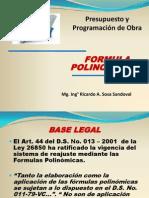 CLASE DE FORMULA Polinomica