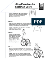 Wheelchair Stretches