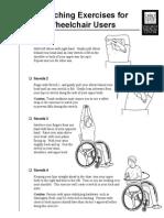 Wheelchair Stretches