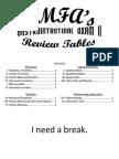 Gastrointestinal Exam II Tables