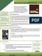 Newsletter 3 Spring 2015