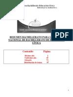 Resumen Cívica Para Bachillerato