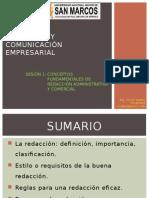 Conceptos Redaccion Ad y Co