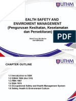 1.0 - Health Safety & Environment Management