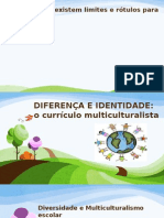 Diferença e Identidade; o currículo multiculturalista.pptx