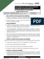 Plano de Gerenciamento Da Qualidade (Qualit Management Plan)
