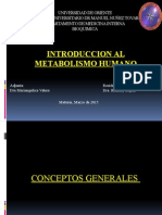 Bioquimica Introduccion Al Metabolismo Humano