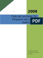 Club de Lectores Tic Proyecto