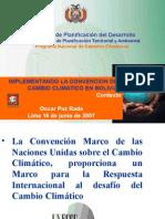 CambioClimatico Bolivia
