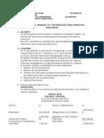 APLICACIÓN DEL MANUAL DE CONTABILIDAD PARA EMPRESAS BANCARIAS
