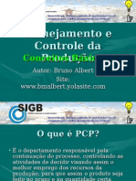 Planejamento e Controle Da Produção (PCP) - Conceitos Básicos