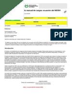 94617279 Levantamiento Manual de Cargas Ecuacion Del NIOSH