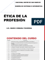 Ética Profesional Clase 1
