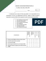 Inventario de Cogniciones Postraumáticas