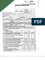 Lista de Inspeccion Seremi 2010