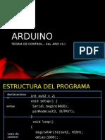 Programacion Arduino