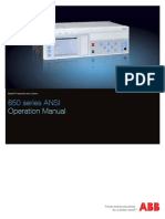 1MRK500096-UUS - En Operation Manual 650 Series 1.3 ANSI