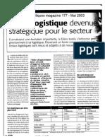 Article Logistique Magazine