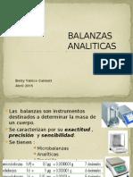 BALANZAS ANALITICAS