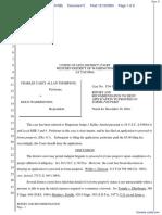 Thompson v. Waddington - Document No. 5
