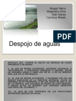 Despojo de Aguas 2