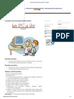 Proyecto de Informática Para Niños - Garabato
