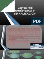 Cementos Ionómeros y Su Aplicación