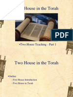 Two House in the Torah