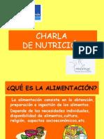 Charla de Nutricion