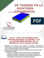 01-Curso Papeles de trabajo en la auditoria  gubernamental