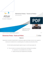 Altair Hyperworks - Teoria Na Pratica Parte 1