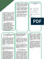 triptico reglamento de impacto ambiental titulos