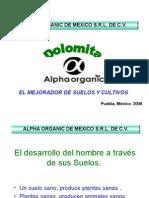 Dolomita Alpha Organic de Mexico Srl de Cv